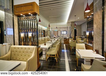 SINGAPORE - CIRCA JANUARY, 2020: interior shot of Mercure Singapore Bugis