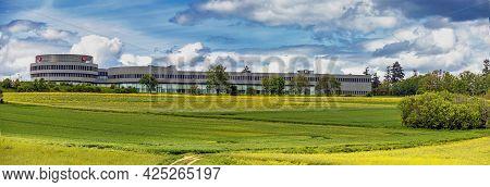 Wetzlar, Germany 2021-05-23:  Panorama From Leica Headquarter In Wetzlar, Hesse , Germany Surround C