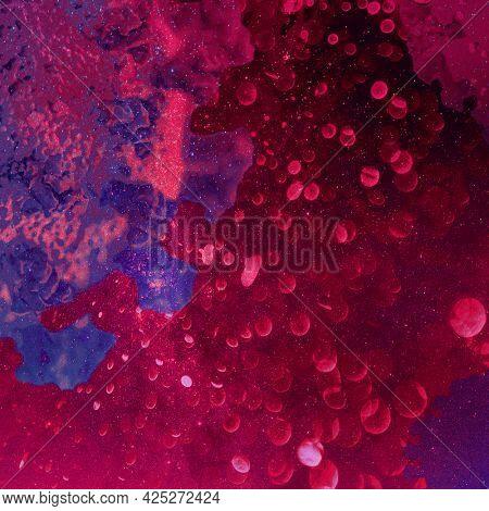 Red infectious coronavirus outbreak social banner