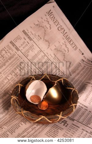 Nest Egg, Retirement, Savings,