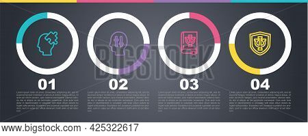 Set Line Solution To The Problem, , Psychology Book, Psi And Psychology, . Business Infographic Temp