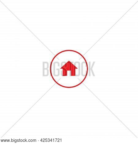 Home, Homepage Icon Vector Isolated On White Background