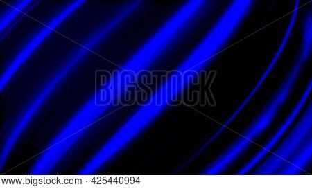 Abstract Technology Background In Dark Blue Colors And Endless Seamless Loop Motion. Animation. Fibe