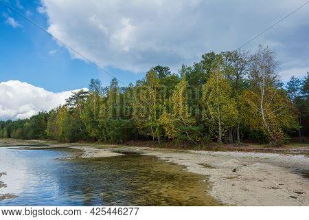 Pisochne Lake, Melnyky, Shatsk National Natural Park, Volyn Region, Ukraine. The Shatskyi Lakes Grou