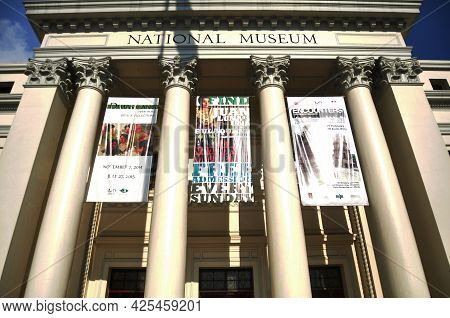 Classic Antique Vintage Retro National Museum Of Philippine For Filipino People And Foreign Traveler