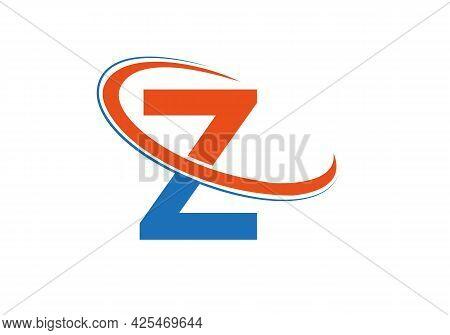 Modern Z Logo Design For Business And Company Identity. Creative Z Letter Logo Design