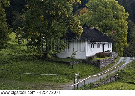 Balaze-kaliste, Banska Bystrica, Slovakia: National Cultural Monument. One Of The Two Original House
