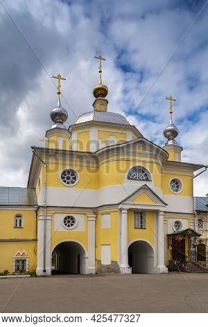 Gateway Church Of The Transfiguration In Shartoma Monastery, Russia