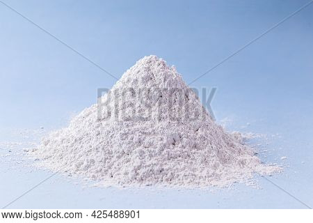 Zinc Oxide, White Powder Used As A Fungus Growth Inhibitor In Paints And As An Antiseptic Ointment I