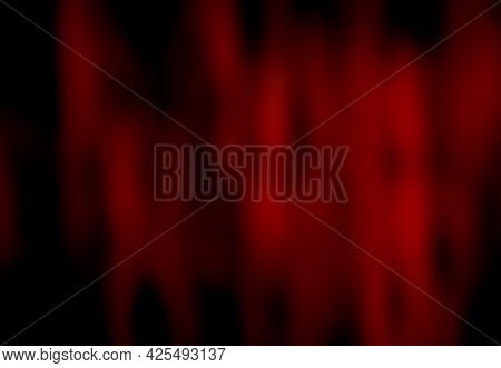 Black Red Festive Background With Blur And Gradient. Space For Graphic Design And Creative Ideas. Co