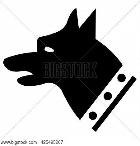 Gauge Dog Symbol Sign Isolate On White Background,vector Illustration Eps.10