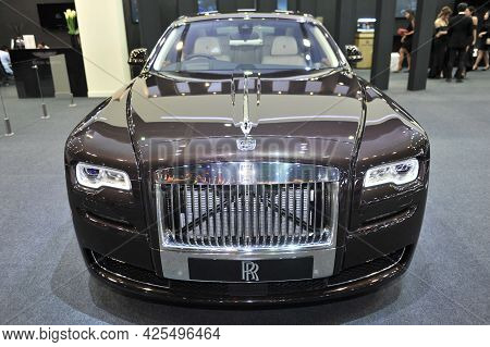 Bangkok-april 4 Rolls-royce Car At The 38th Bangkok International Motor Show 2017 On April 4, 2017 I