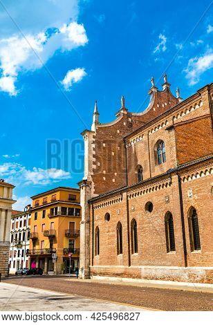 Santa Maria Annunziata Cathedral Of Vicenza In Italy