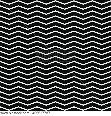 Edgy, Zigzag, Crisscross Lines Seamlessly Repeatable Pattern, Texture