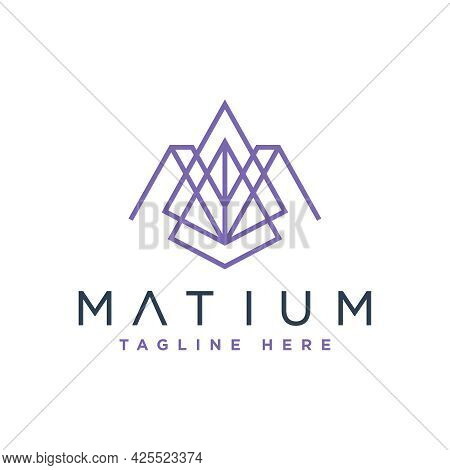 Modern Logo Design Initial Letter Am Or Your Brand