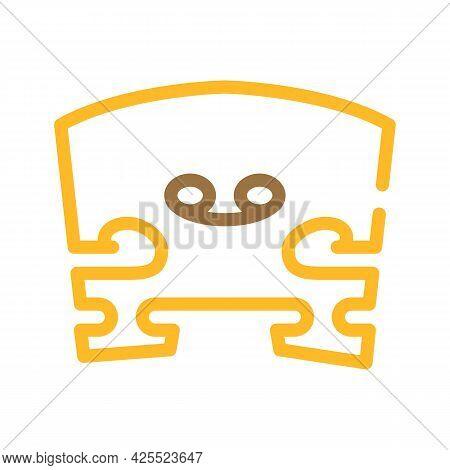 Snare Violin Color Icon Vector. Snare Violin Sign. Isolated Symbol Illustration