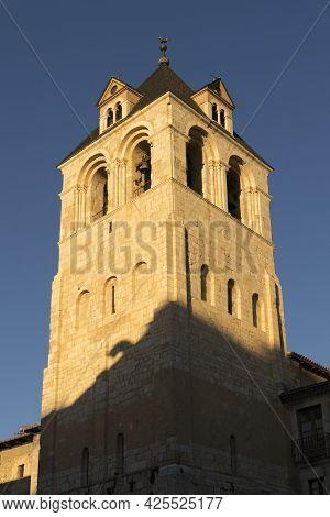 View Of The Colegiata De San Isidoro Tower, Leon, Spain