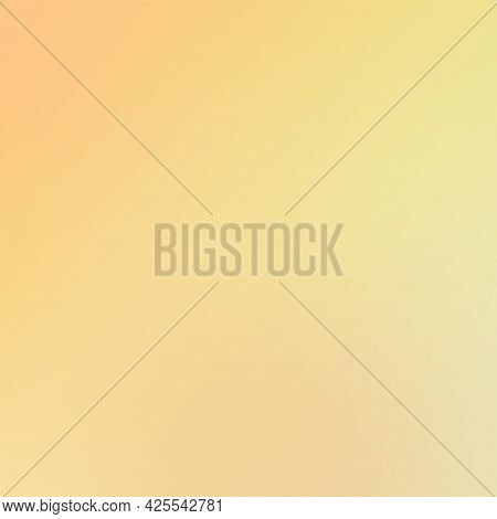 Abstract Gradient Color Background. Marigold Orange Color Mix With Illuminating Yellow. Background C
