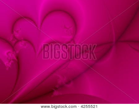 Dark Pink Valentine Background