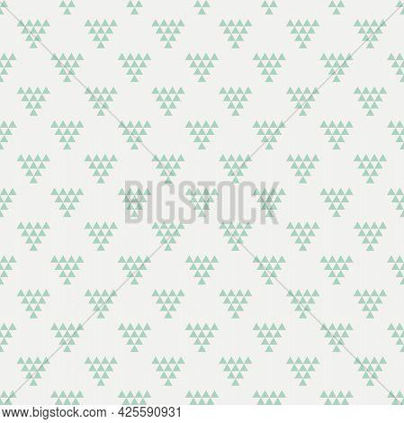 Modern Triangle Seamless Pattern Background. Fabric Designs And Wallpapers.