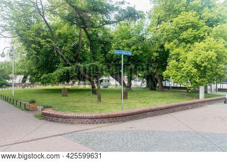 Square Of August 31, 1982 In Gorzow Wielkopolski, Poland.