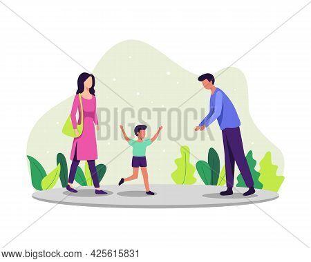 Parenting Concept Illustration