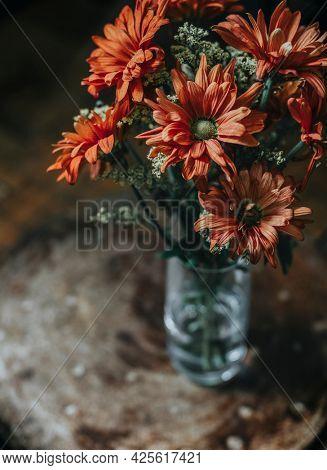 Gerbera daisy bouquet in a vase