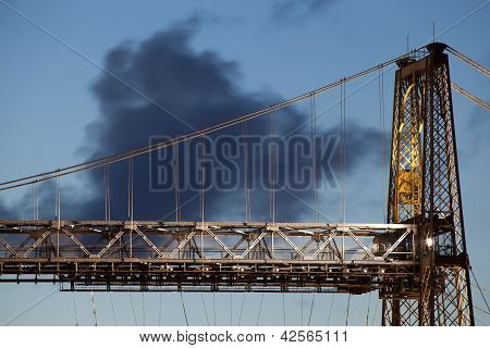 Bridge Of Bizkaia, Portugalete, Bizkaia, Basque Country, Spain