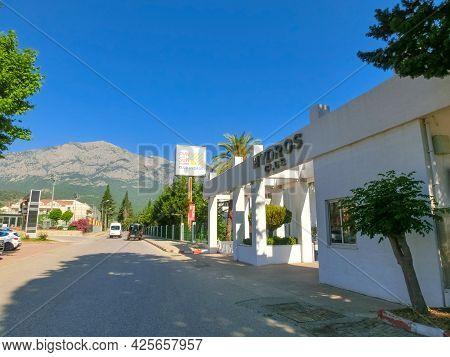 Kemer, Antalya, Turkey - May 11, 2021: Fun And Sun Active Club Hydros 5 Star Hotel At Kemer, Antalya