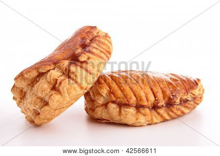 isolated apple turnover
