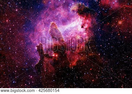 Awesome Of Endless Cosmos. Elements Of This Image Furnished By Nasa