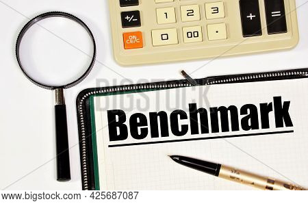 Benchmark. A Text Label In The Research Notebook. Planning Of Reference Testing.