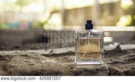 Perfumes For Men. A Jar Of Perfume.