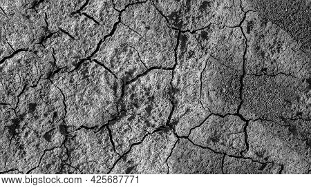 The Texture Of The Earth Is In Cracks, The Climate Is Changing, The Dry Land Is In The Cracks.