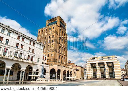 Piazza Della Vittoria In Brescia - Lombardy, Italy
