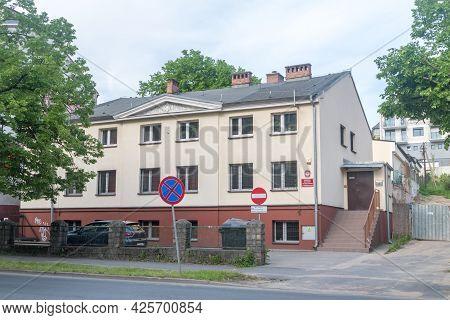 Gorzow Wielkopolski, Poland - June 1, 2021: Military Psychological Laboratory.