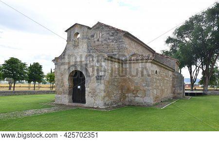 Visigoth Church Of San Juan Bautista In Venta De Baños. Built In The 7th Century, Currently Surround