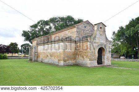 Church Of San Juan Bautista In The Town Of Venta De Baños. Of Visigothic Origin, It Was Built In The