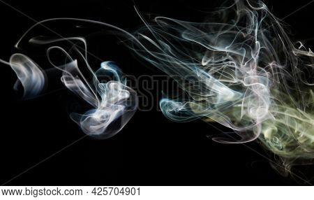 Elegant Color Smoke Shape