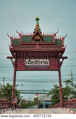 Ancient Siam Or Ancient City Or Mueang Boran Is The World's Largest Outdoor Museum Park Featuring 11