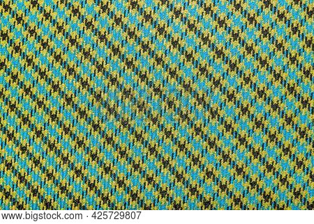 Cloth. A Solid Piece Of Material For Sewing Clothes. Fabric. Plaid Material