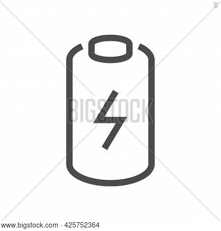 Electric Car Battery Icon