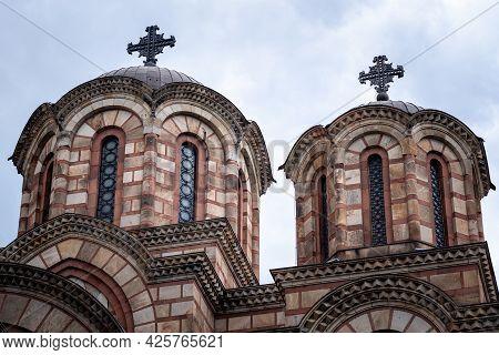 St. Mark Church (crkva Svetog Marka), Serbian Orthodox Church Located In The Tasmajdan Park In Belgr