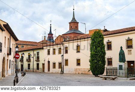 Convento De Las Clarisas De San Diego In Alcala De Henares Near Madrid, Spain