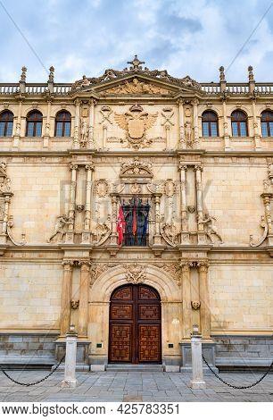 Colegio Mayor De San Ildefonso In Alcala De Henares Near Madrid, Spain
