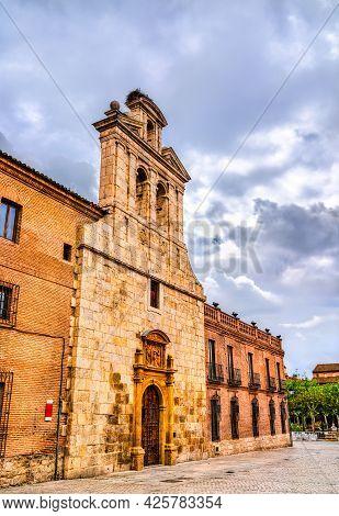 San Ildefonso Chapel In Alcala De Henares Near Madrid, Spain