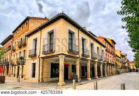 Architecture Of Alcala De Henares Near Madrid In Spain