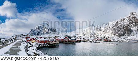 Reine fishing village in Lofoten, Norway