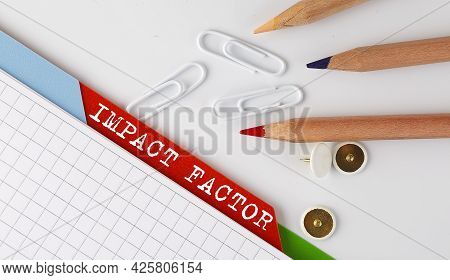 Impact Factor Text On Folder Register With Office Tools