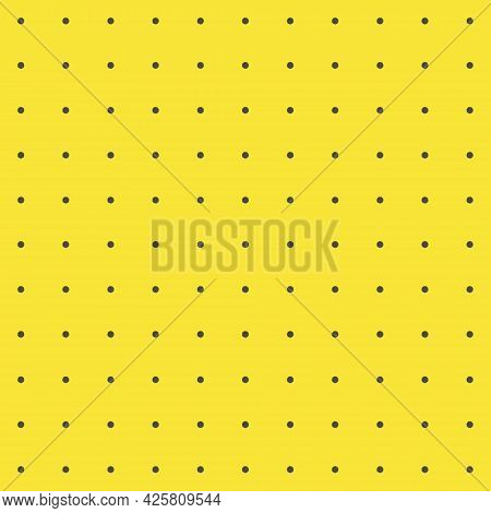 Peg Board Perforated Texture Background Material With Round Holes Seamless Pattern Board Vector Illu